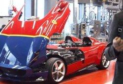 Uno de los Ferrari Monza SP2 rendirá homenaje al Ferrari 290 MM ex Fangio