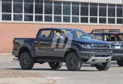 Extraña mula del Ford Ranger Raptor con nuevos escapes cazada en EEUU