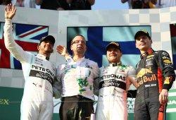 "Hamilton cifra en ""menos de 10 caballos"" la desventaja del motor Honda"
