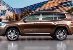 Jeep lanzará un nuevo SUV de 7 plazas por encima del Grand Cherokee