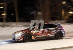 Los nuevos Mercedes-AMG A 45 derrapando sobre el hielo [vídeo]