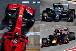 """Mercedes y Red Bull, rendidos ante Ferrari: """"Nos sacan al menos medio segundo"""""""