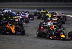 """Sainz y Verstappen explican su accidente: """"Con estos coches vamos a ciegas"""""""