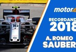 [Vídeo] Alfa Romeo Sauber y su salida del pozo