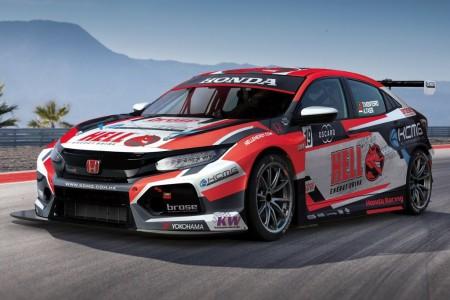 KCMG revela los colores de sus Honda Civic del WTCR