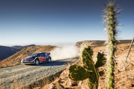 M-Sport va a por todas en la grava del Rally de México