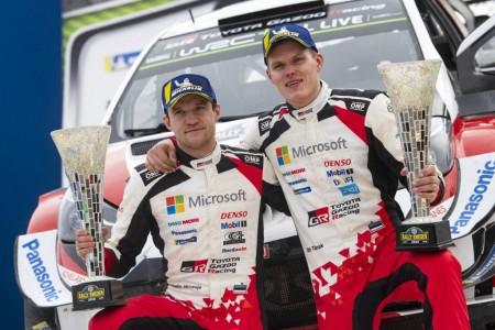 Ott Tänak y Toyota, reyes del WRC a su llegada a México