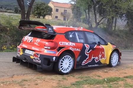 Primeros test de Ogier y Loeb pensando en el Tour de Corse