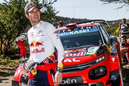 Ogier y Citroën 'juegan' en casa en el Tour de Corse