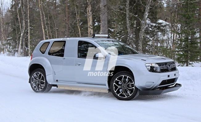Alpine SUV - foto espía