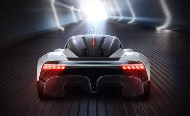 Aston Martin AM-RB 003 Concept - posterior