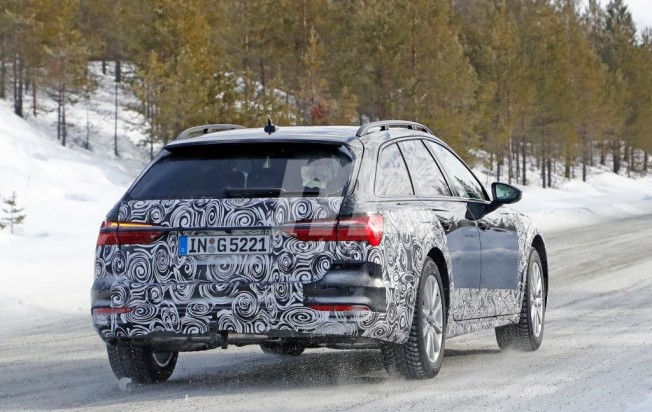 Audi A6 allroad quattro 2019 - foto espía posterior