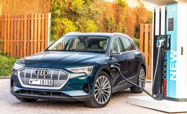 Audi e-tron Charging Service