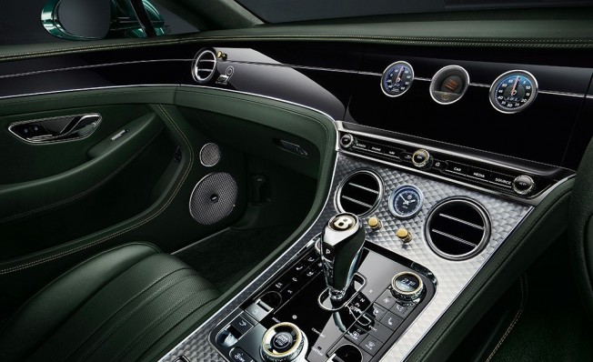 Bentley Continental GT Number 9 Edition - interior