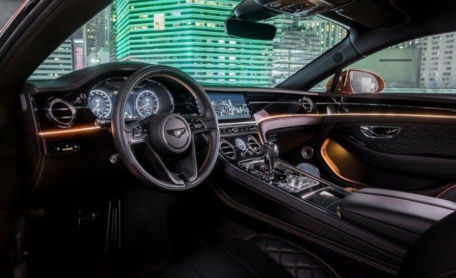 Bentley Continental GT V8 - interior