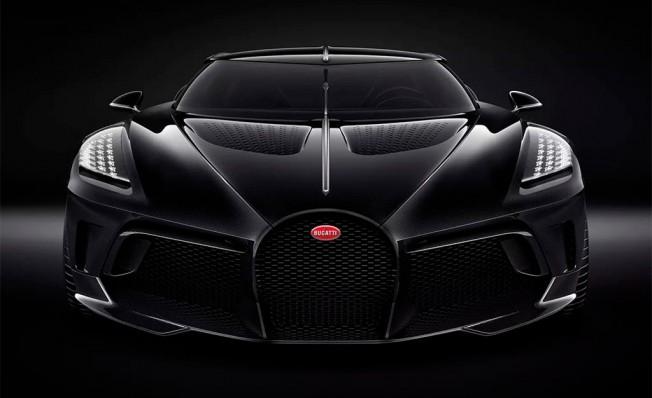 Bugatti La Voiture Noire - frontal