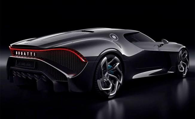 Bugatti La Voiture Noire - posterior