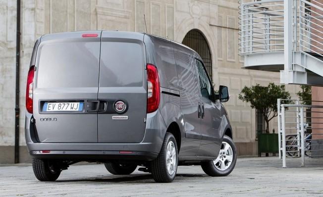 Fiat Doblò Cargo SX - posterior
