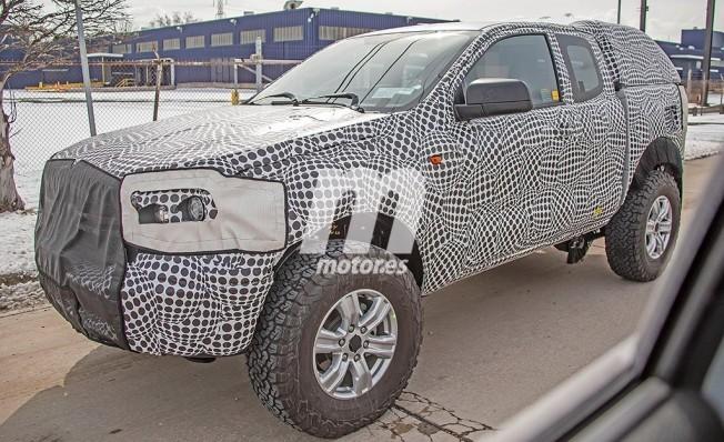Ford Bronco 2020 - foto espía