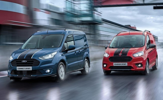 Ford Transit Connect Sport y Ford Transit Courier Sport