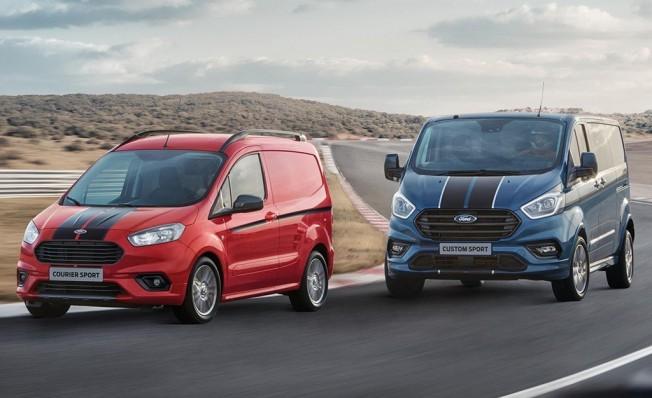 Ford Transit Courier Sport y Ford Transit Custom Sport