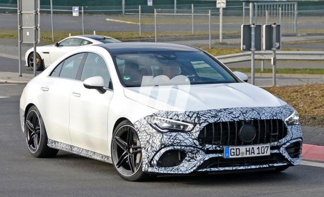 Mercedes-AMG CLA 45 4MATIC - foto espía