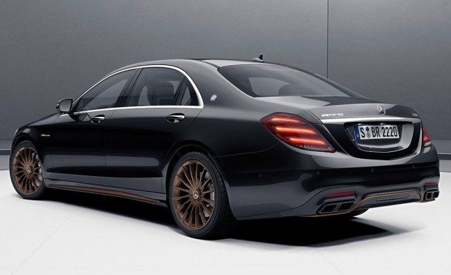 Mercedes-AMG S 65 Final Edition - posterior