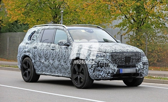 Mercedes-Maybach GLS - fotos espía