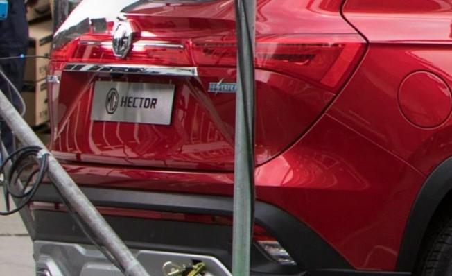 MG Hector Hybrid - foto espía