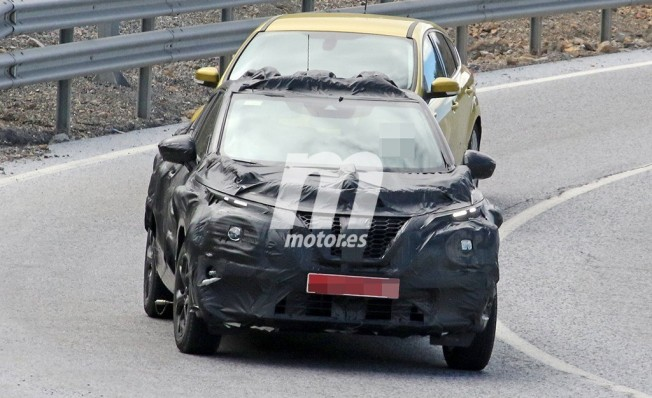 Nissan Juke 2020 - foto espía frontal