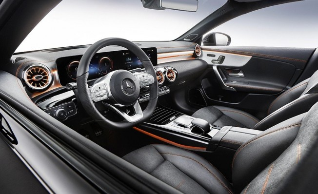 Mercedes CLA Coupé 2019 - interior