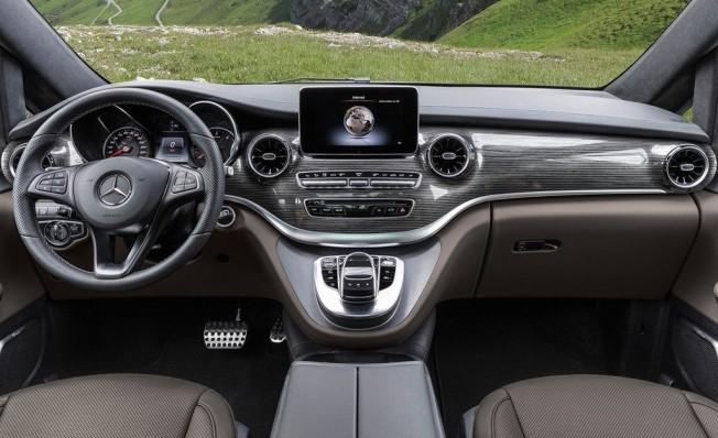 Mercedes Clase V 2019 - interior