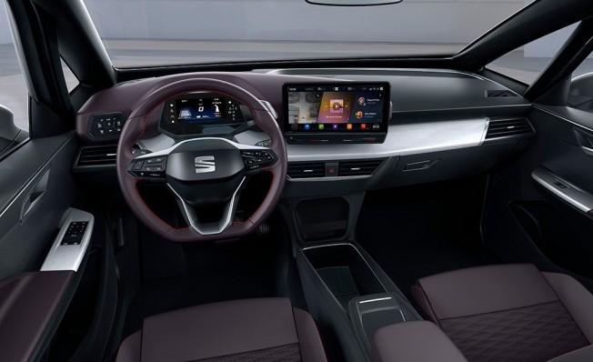 SEAT el-Born - interior