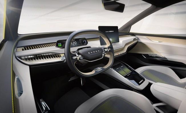 Skoda Vision iV - interior