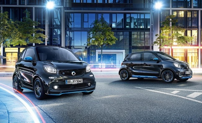 Smart EQ ForTwo y Smart EQ ForFour