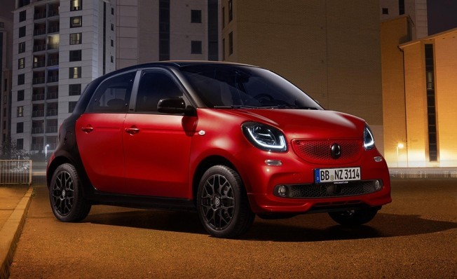 Smart ForFour Urbanshadow Edition