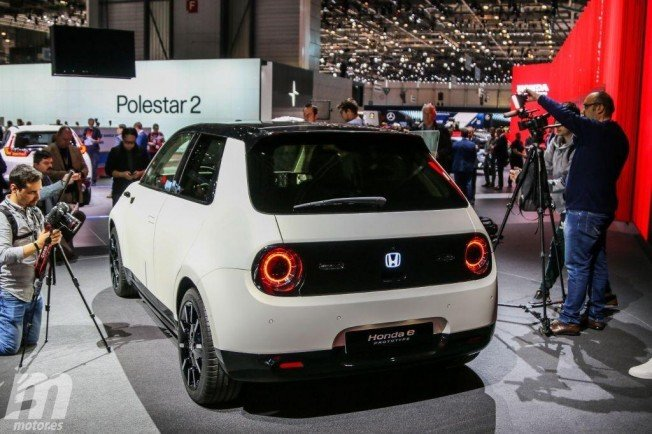 Honda e Prototype - posterior