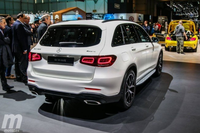 Mercedes Clase GLC 2019 - posterior