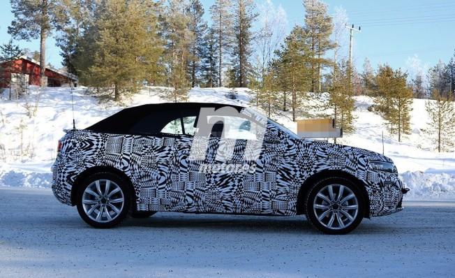 Volkswagen T-Roc Cabrio - foto espía