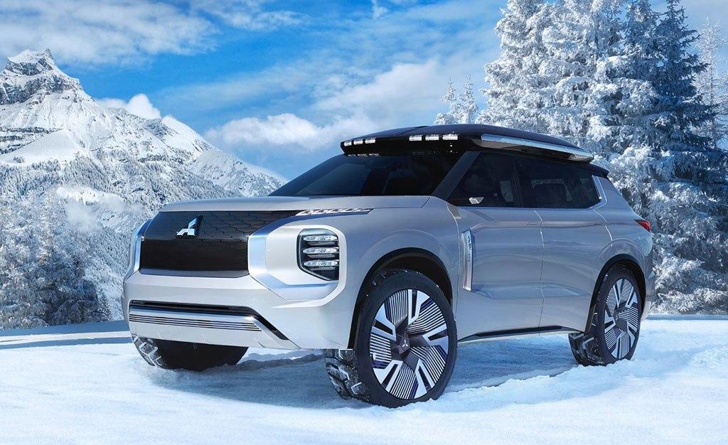 Mitsubishi Engelberg Tourer Concept, perfeccionando los híbridos enchufables