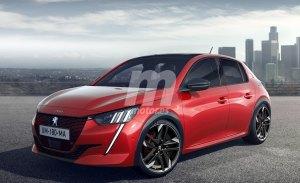 El futuro Peugeot e-208 GTi se insinua en estos renders