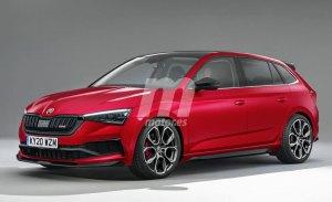 Un Skoda Scala RS híbrido entra en los planes de la compañía