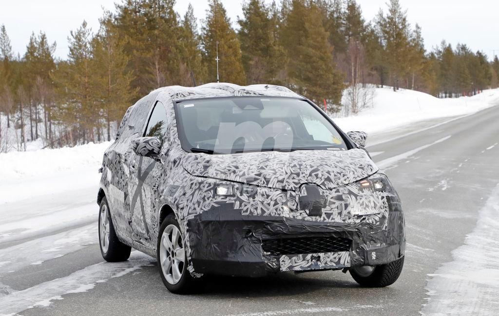 El nuevo Renault ZOE 2020 cazado durante sus pruebas de invierno