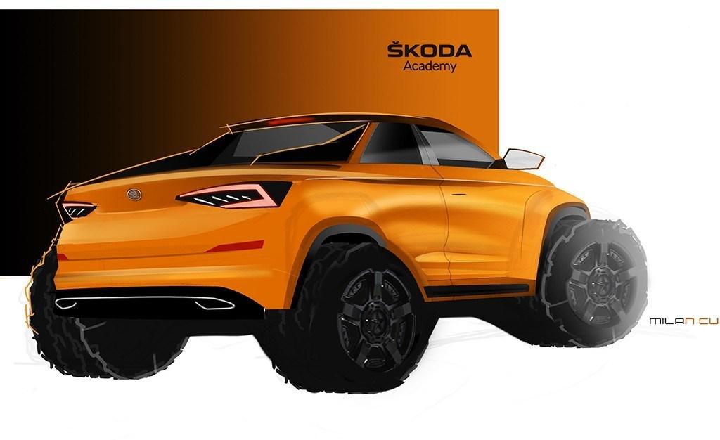 El Skoda Kodiaq se convertirá en un pick-up