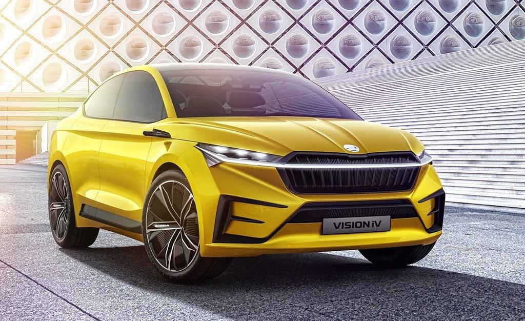 Skoda Vision iV, el coche eléctrico de la firma checa está más cerca