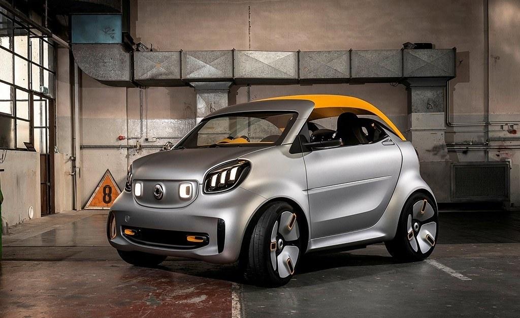 Smart forease+ Concept, haciendo del ForTwo Cabrio un modelo más deportivo