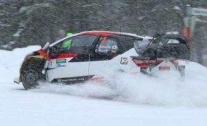 Takamoto Katsuta gana en su primer rally con el Yaris WRC