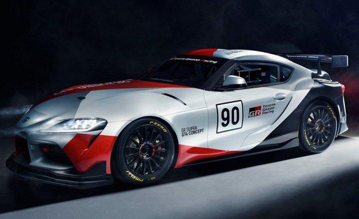 Ver Galería Toyota Gr Supra Gt4 Concept Jugando Con La Idea De Un Para Categoría