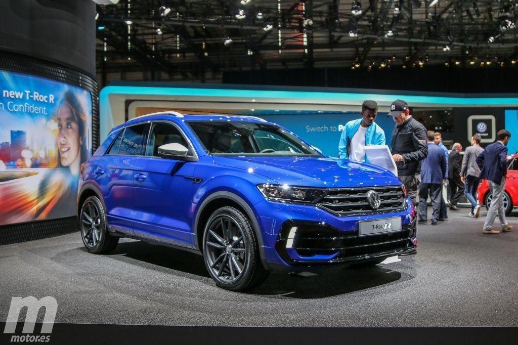 El nuevo Volkswagen T-Roc R en vídeo desde el Salón de Ginebra 2019