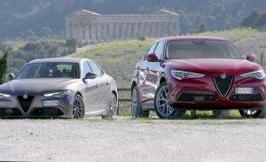 Los Alfa Romeo Giulia y Stelvio serán híbridos enchufables en 2021